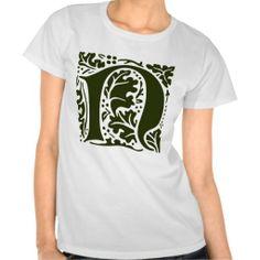 William Morris Letter N Monogram Shirt