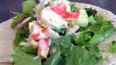 Make and share this Imitation Crab Salad recipe from Genius Kitchen.