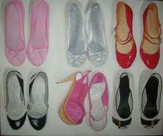 lisa milroy - Google Search Lisa Milroy, Ballet Shoes, Dance Shoes, Year 9, Beauty Illustration, Shoe Art, Everyday Objects, Feminism, Fashion Art