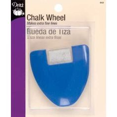 I actually suggest skipping the fabric pens/pencils, they are pricey don't always do what they say & dry out easily. I LOVE my Dritz chalk wheel. It isn't tailors chalk, but similar. I have used a lot of chalk wheels & this one is super smooth & works VERY well. I just by bottles of sewing chalk to refill it instead of the special ones that go with it.  My friend spent a month looking in stores but all the other ones she tried had stiff wheels in them, so it's worth the few extra $ for this…