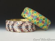 Bangles in a retro pattern