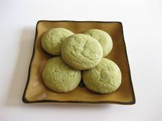 Crispy, Chewy, Matcha Green Tea cookies