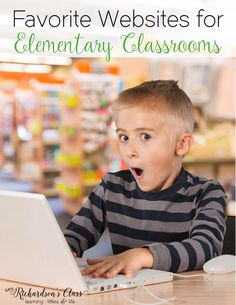 Favorite websites for kids to use in the classroom that are great for literacy. We love the 2nd one so much!!