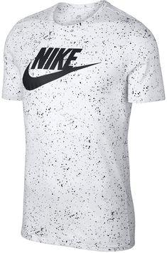 199560618d727 Nike Men s Sportswear Printed Logo T-Shirt   Reviews - T-Shirts - Men -  Macy s