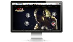 GOLDEN BOY GYM: Diseño web para gimnasio.