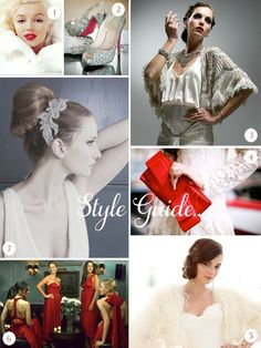 Red carpet glamour wedding day inspiration courtesy of Angelina Jolie & the Golden Globes... 2/3