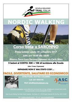 Inizio corso base 30 settembre 2017 ore 14.00 Parco Lura Saronno. Posti limitati!