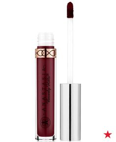 If you're feeling like a boss, upgrade your workweek beauty look with a berry lip. Shades from a light raspberry to a deep wine command attention in the boardroom and beyond. A liquid matte lipstick, like Anastasia Beverly Hills lipstick in Sad Girl, ensures your color lasts from that first sip of coffee until your last meeting of the day.