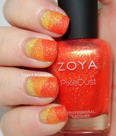 Dipped in Lacquer: NOTD Zoya Summer PixieDusts Solange, Beatrix, and Destiny