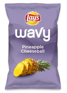 Wouldn't Pineapple Cheeseball be yummy as a chip? Lay's Do Us A Flavor is back, and the search is on for the yummiest chip idea. Create one using your favorite flavors from around the country and you could win $1 million! https://www.dousaflavor.com See Rules.