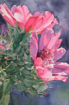 """Cholla Cactus"" by Jane Fritz http://www.janefritz.com/:"