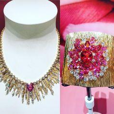 Piaget @piaget #gold #savoirfaire #hautejoaillerie #pfw #diamonds #saphire
