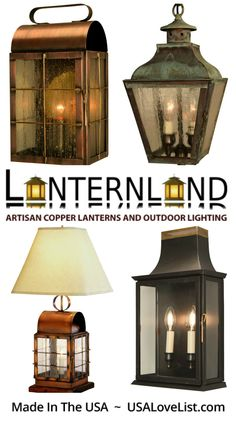 Lanternland indoor and outdoor home lighting | Hand crafted in the USA