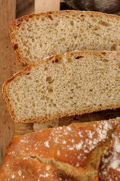 Chleb, najprostszy z prostych... No Knead Bread, Polish Recipes, Cake Cookies, Bread Recipes, Sandwiches, Recipies, Food And Drink, Rolls, Tasty