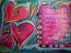 love this and ALL the heart doodles