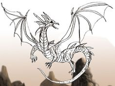 Dragon Drawing step by step tutorial Cartoon Drawings, Easy Drawings, Drawing Sketches, Game Of Thrones Drawings, Cartoon Dragon, Dragon Pictures, Simple Doodles, Dragon Art, Step By Step Drawing