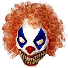 Details about Halloween Latex Evil Clown Sinister Pennywise Horror Costume Props Party Masks Evil Clown Mask, Scary Clown Makeup, Evil Clowns, Scary Clowns, Creepy, Latex Halloween Masks, Hot Halloween Costumes, Scary Halloween, Halloween Party