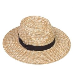 The Spencer Fedora Natural Straw/Black (1,585 THB) ❤ liked on Polyvore featuring accessories, hats, straw fedora hat, summer fedora hat, summer fedora, summer hats and beach hats