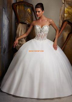 Taft Sommer Perlenstickerei Brautkleider 2013