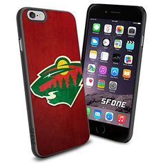 """NHL Minnesota Wild iPhone 6 4.7"""" Case Cover Protector for iPhone 6 TPU Rubber Case SHUMMA http://www.amazon.com/dp/B00WU1FEYO/ref=cm_sw_r_pi_dp_mGnqvb09T09RK"""