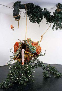 The Swing by Yinka Shonibare   Una de mis debilidades, arte con una fuerte conexión con la historia del arte.