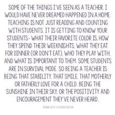 I appreciate YOU! A Blogpost about WHY teaching is the most important profession their is!