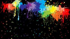 Preview Paint Splatter Background
