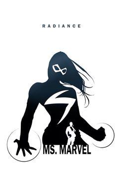 Ms. Marvel - Radiance by Steve Garcia