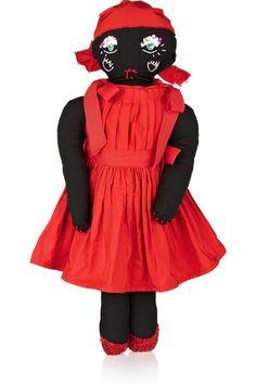 Lanvin Embellished poplin doll