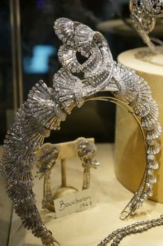 A Boucheron diamond beauty bling jewelry fashion