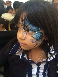 "Face painting ""Butterfly"""