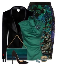 Untitled #2878 by nancymcd on Polyvore featuring polyvore, fashion, style, Dsquared2, Armani Collezioni, Christian Louboutin, Elie Saab, Free People, Andrea Incontri, Ippolita and clothing