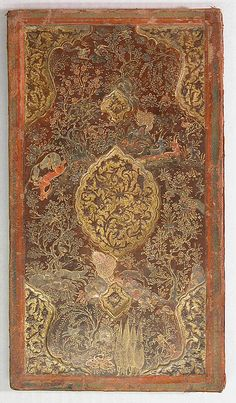 Bookbinding (Jild-i kitab). 16th century. Leather; painted, embossed, and tooled.