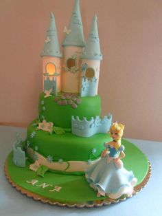 . Gorgeous Cakes, Amazing Cakes, Pretty Cupcakes, My Birthday Cake, Fairy Cakes, Cake Blog, Big Cakes, Disney Cakes, Love Cake