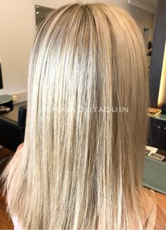 Silver blonde root fade 💕 #silverhair #silver #rootfade #blonde #blondehair #perth #hairdresser