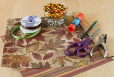 Fall DIY Wedding Favors