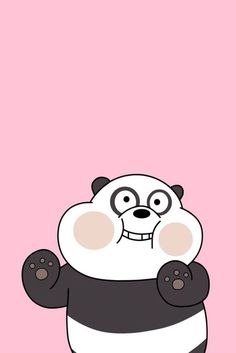 Ursos Sem Curso Lock Screen Wallpaper Panda Wallpaper regarding Amazing We Bare Bears Wallpaper Couple - All Cartoon Wallpapers Cute Panda Wallpaper, Bear Wallpaper, Cute Disney Wallpaper, Kawaii Wallpaper, Cute Wallpaper Backgrounds, Wallpaper Iphone Cute, Pink Wallpaper, Screen Wallpaper, Mobile Wallpaper