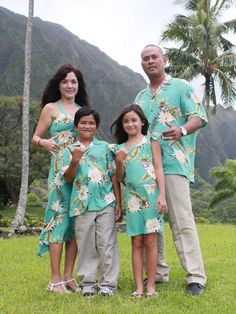 This page is dedicated to Matching Hawaiian Clothing for Family. Find Matching Hawaiian Shirts and Muumuu Dresses for Resort Weddings and Honeymoons, and for anything else like a Tropical Vacation!