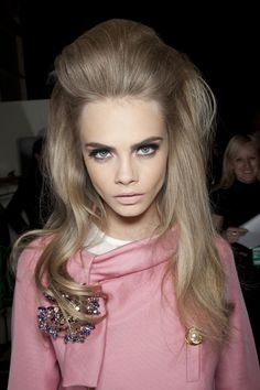 Cara was amazing at the Dsquared show