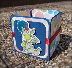 Birthday-Dragon Box Boxes, Dragon, Birthday, Crafts, Basteln, Crates, Manualidades, Box, Cubbies