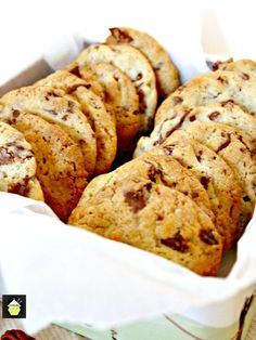 Chocolate Pecan Cookies. Delicious easy cookies perfect with a glass of milk or cup of tea! Also great for gifts!