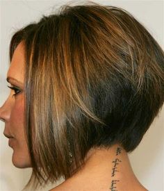 Pictures about inverted bob hairstyles Celebrities Opted For Inverted Bob Haircuts Over The Past Years. Inverted bob haircuts are a major so. Inverted Bob Hairstyles, Short Hairstyles For Women, Stacked Hairstyles, Wedge Hairstyles, Tapered Hairstyles, Trendy Hairstyles, Fringe Hairstyles, Beautiful Hairstyles, Medium Hairstyles