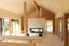 Ole Petter Wullum — LYSTHUS / RINDALSHYTTER Modern Barn House, Divider, Room, Furniture, Country, Home Decor, Homemade Home Decor, Rural Area, Rooms