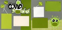covidsucks0820 Scrapbook Pages, Scrapbooking, Scrapbook Layouts, Kit, Holidays, Holidays Events, Holiday, Scrapbooks, Smash Book Pages