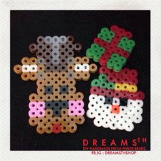 Christmas perler beads by dreamsthshop