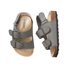 Accessories Slate Grey Trail Sandals by Gymboree - Baby Boy Cute Baby Shoes, Baby Boy Shoes, Cute Baby Clothes, Baby Boy Outfits, Girls Shoes, Kids Outfits, Newborn Outfits, Baby Boy Summer Clothes, Baby Girl Sandals