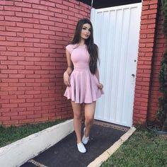 15 Vestidos cortos que el calorón te pide a gritos Sexy Dresses, Cute Dresses, Short Dresses, Fashion Dresses, Girl Outfits, Casual Outfits, Cute Outfits, Moda Outfits, Summer Outfits
