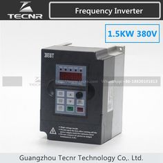 135.00$  Watch now - http://alibs1.shopchina.info/1/go.php?t=32727267478 - high quality 1.5KW VFD inverter 380V input 1PH output 3PH frequency inverter spindle motor  #shopstyle