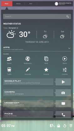 [Homepack Buzz] Check this awesome homescreen! Leche Style™ | Minimalistic Simplism Hi Guys~! I'm Leche Style™ Glass Flat UI 1st Edition This homepack is soft, Flat, I make use of simple feeling