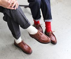 足元の印象でコーデは変わるシューズ靴下でつくる脱マンネリコーデ